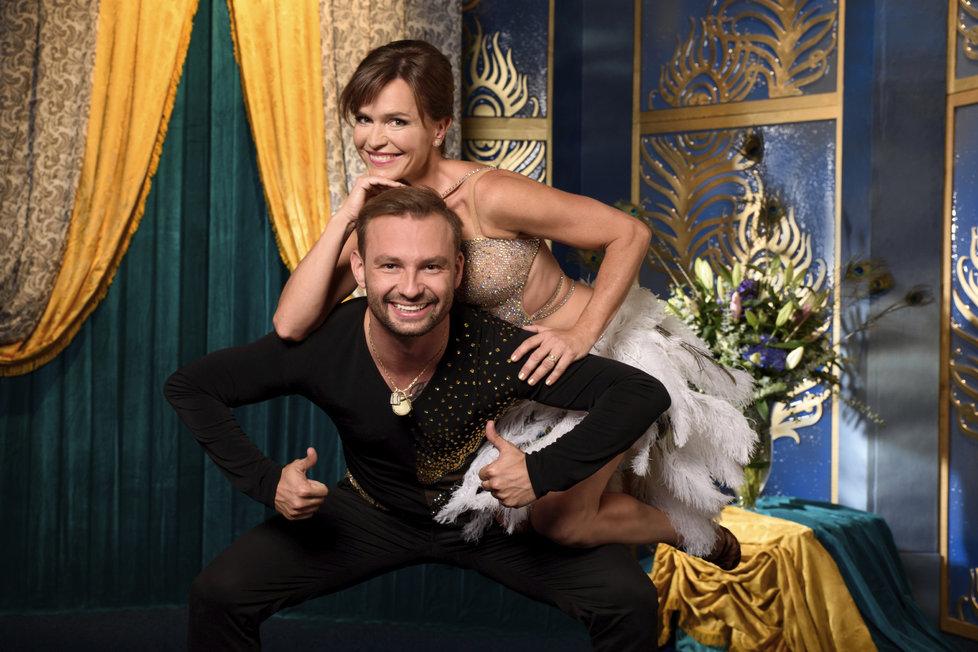 Taneční ukázky s Olgou Šípkovou